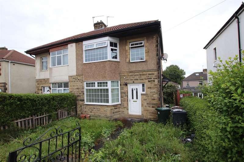 3 Bedrooms Semi Detached House for sale in Leafield Avenue, Bradford