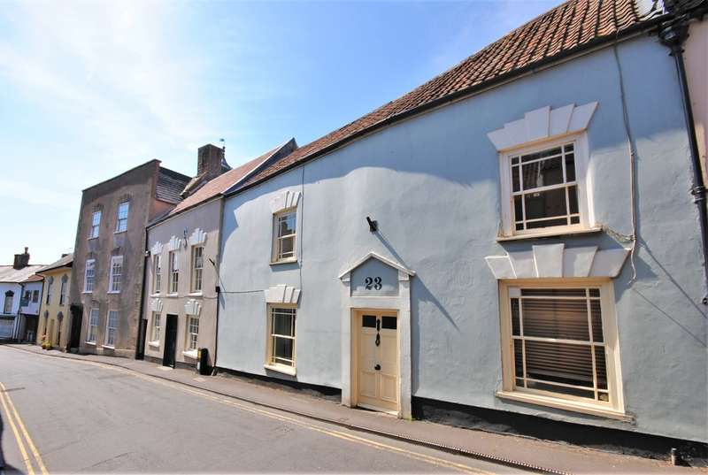 3 Bedrooms Terraced House for sale in High Street, Axbridge