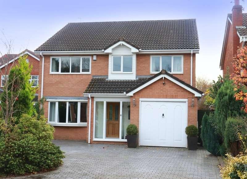 4 Bedrooms Detached House for sale in Springfield Park, Haydock, Merseyside, WA11