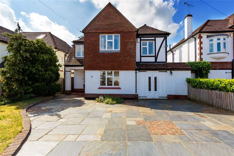 4 Bedrooms Detached House for sale in Parkland Avenue, Upminster, RM14