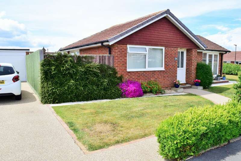 2 Bedrooms Detached Bungalow for sale in Rowantree Drive, Seaview, Isle of Wight, PO34 5JW