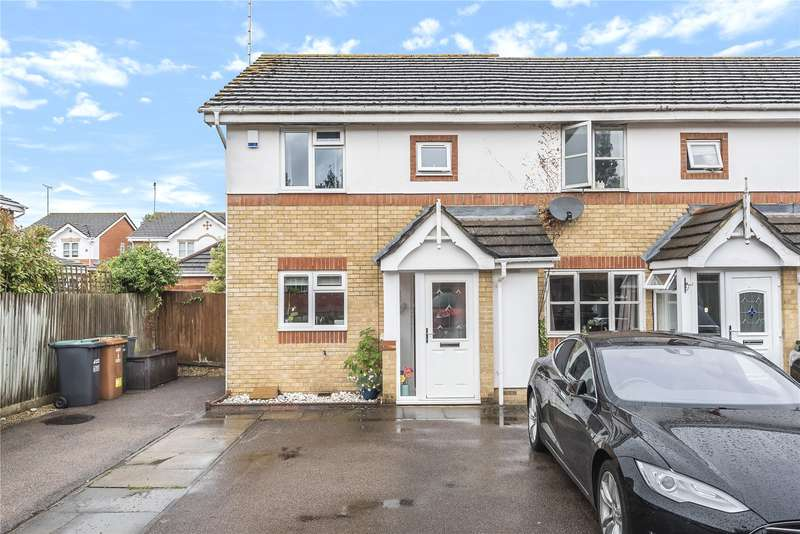 3 Bedrooms End Of Terrace House for sale in Heckford Close, Watford, Hertfordshire, WD18