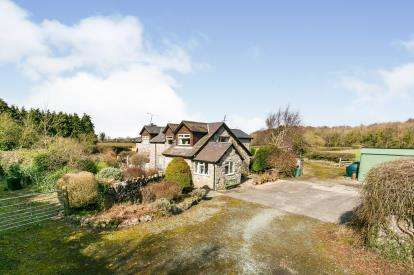 4 Bedrooms Detached House for sale in St. Asaph Road, Lloc, Holywell, Flintshire, CH8