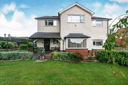 4 Bedrooms Detached House for sale in Leigh Road, Westhoughton, Bolton, Greater Manchester, BL5