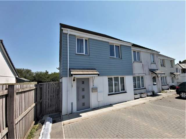 3 Bedrooms Semi Detached House for sale in Delabole
