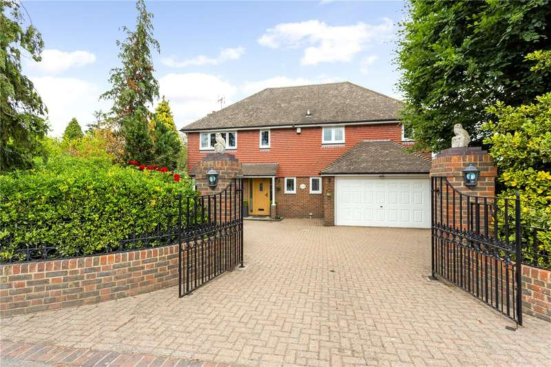 4 Bedrooms Detached House for sale in Pilgrims Way West, Otford, Sevenoaks, TN14