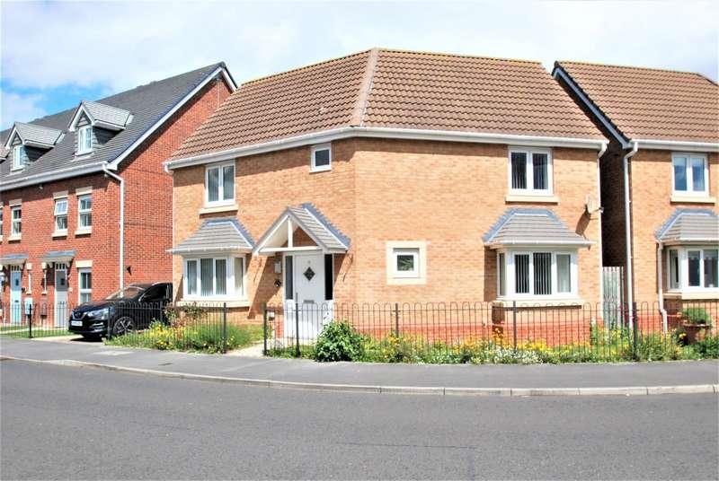 3 Bedrooms Detached House for sale in Olwen Drive, Hebburn