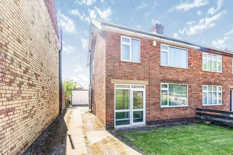 3 Bedrooms Semi Detached House for sale in Portland Road, Selston, Nottingham, NG16