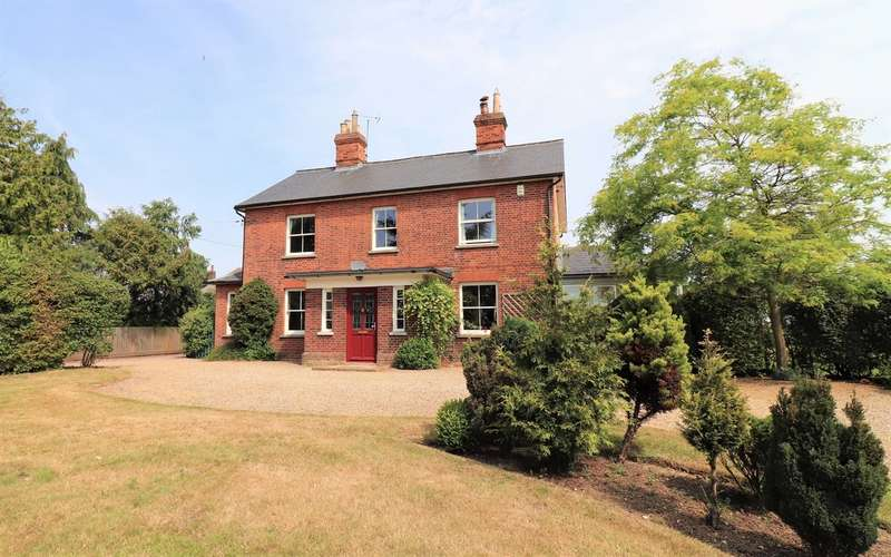 5 Bedrooms Detached House for sale in Silver Hill, Hintlesham, Ipswich, Suffolk, IP8 3NJ