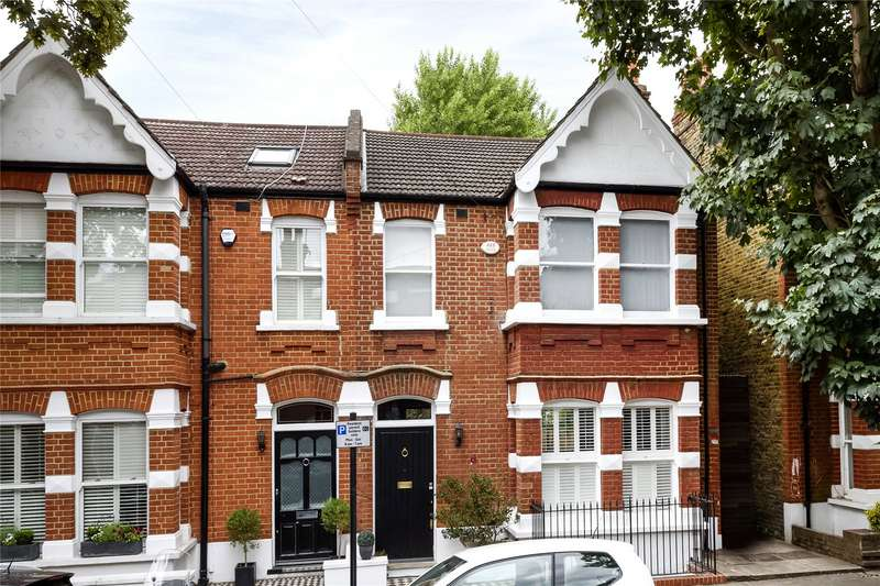 5 Bedrooms Semi Detached House for sale in Cleveland Avenue, London, W4