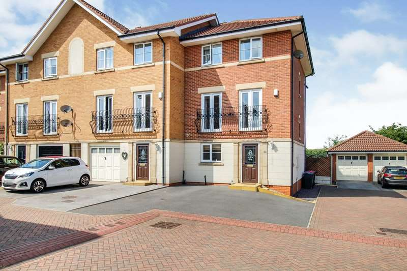 4 Bedrooms Town House for sale in Brookhaven Way, Rotherham, South Yorkshire, S66
