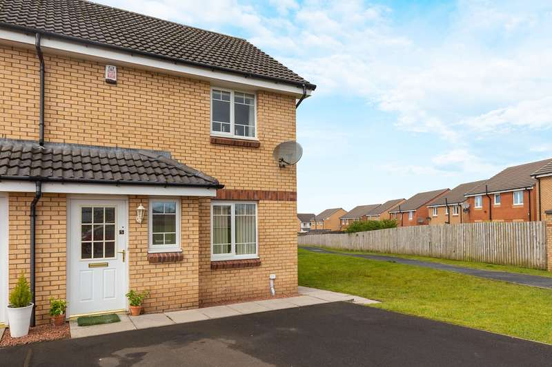 2 Bedrooms End Of Terrace House for sale in Ardmore Place, Kilmarnock, KA3