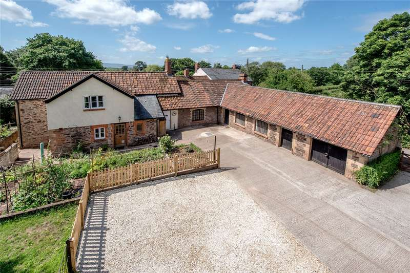 4 Bedrooms Detached House for sale in The Forge, Cheddon Fitzpaine, Taunton, Somerset, TA2