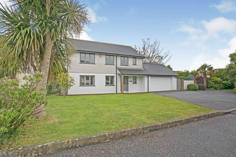 4 Bedrooms Detached House for sale in Killivose Gardens, Camborne, Cornwall, TR14