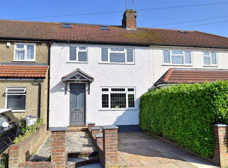 4 Bedrooms Terraced House for sale in Lennard Road, Dunton Green, TN13
