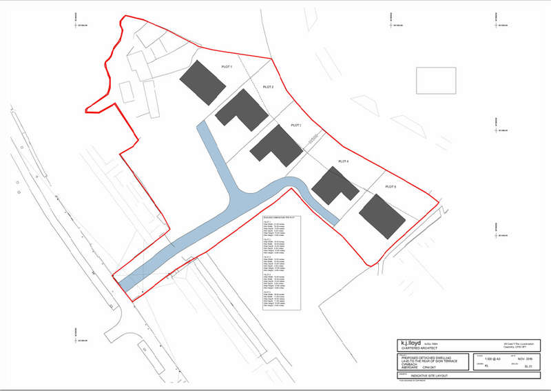 Land Commercial for sale in Land North Of Sion Terrace, Cwmbach