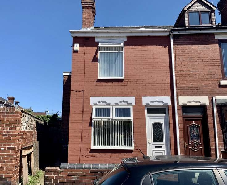 3 Bedrooms End Of Terrace House for sale in Straight Lane, Rotherham, South Yorkshire, S63