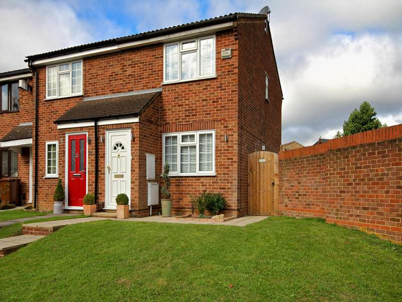 2 Bedrooms End Of Terrace House for sale in Croydon Close, Chatham, Kent, ME5