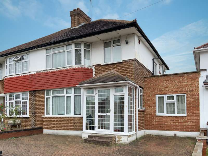 5 Bedrooms Semi Detached House for sale in Welbeck Road, Harrow, HA2