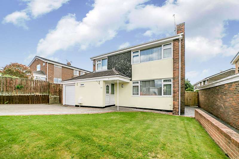 3 Bedrooms Detached House for sale in Beverley Drive, Blaydon-on-Tyne, NE21
