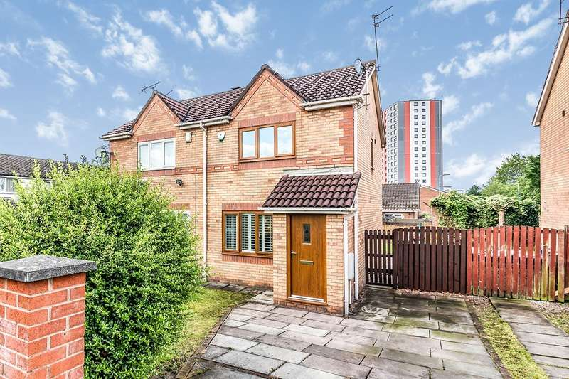 2 Bedrooms Semi Detached House for sale in Windmill Avenue, Salford, M5