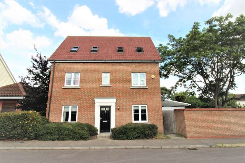 5 Bedrooms Detached House for sale in Guardian Avenue, North Stifford, RM16