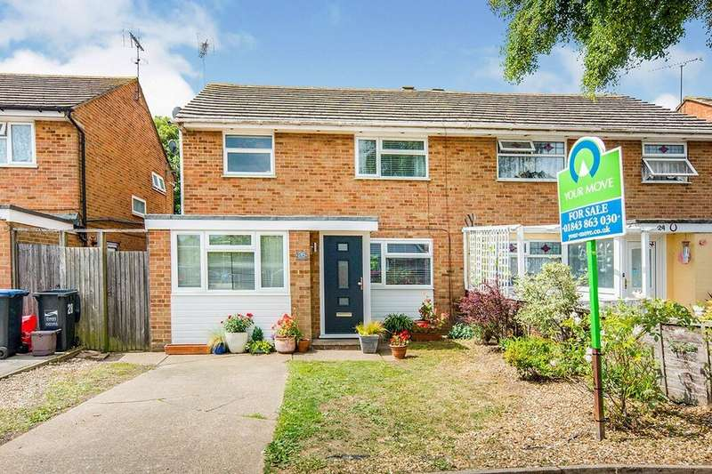 4 Bedrooms Semi Detached House for sale in Chestnut Drive, Broadstairs, CT10