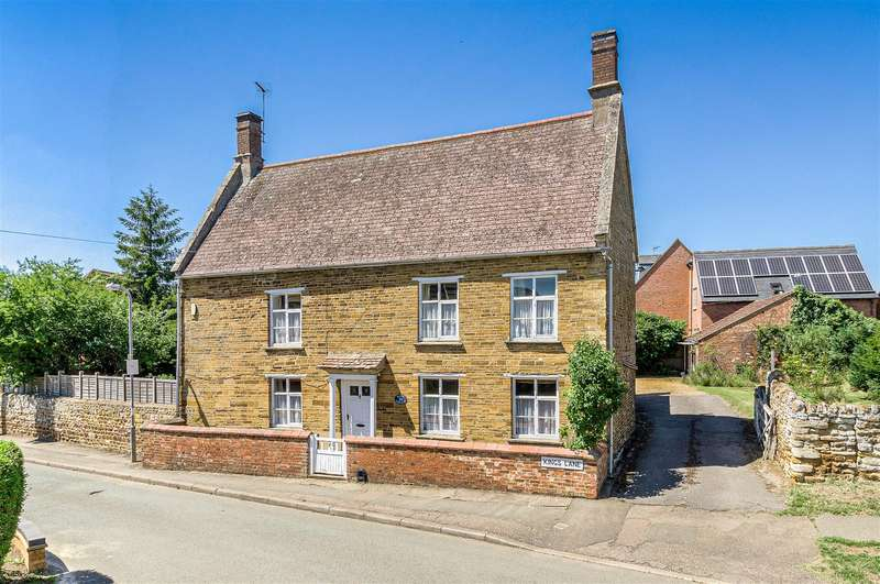 3 Bedrooms Detached House for sale in Kings Lane, Little Harrowden