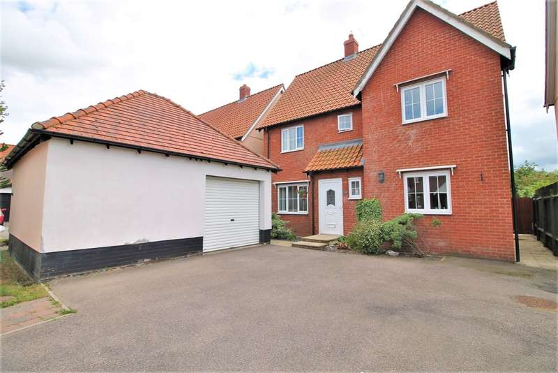 4 Bedrooms Detached House for sale in Cherry Tree Close, Yaxley