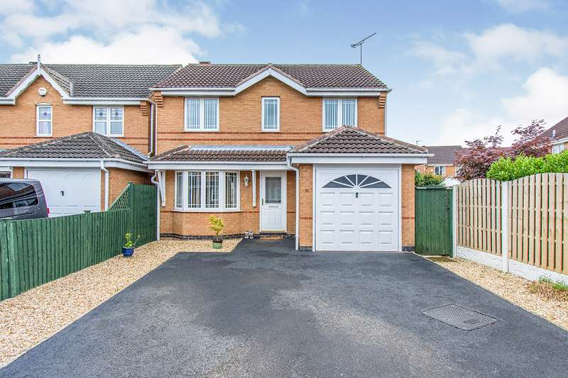 3 Bedrooms Detached House for sale in Woodcock Way, Adwick-le-Street, DN6