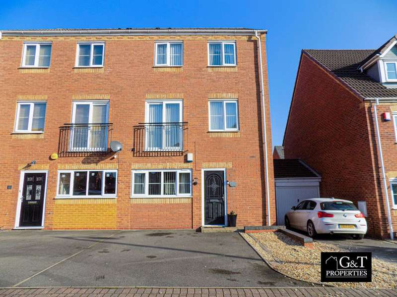 5 Bedrooms Semi Detached House for sale in Harper Grove, Tipton, DY4