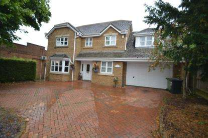 5 Bedrooms Detached House for sale in Orlingbury Road, Little Harrowden, Wellingborough, Na