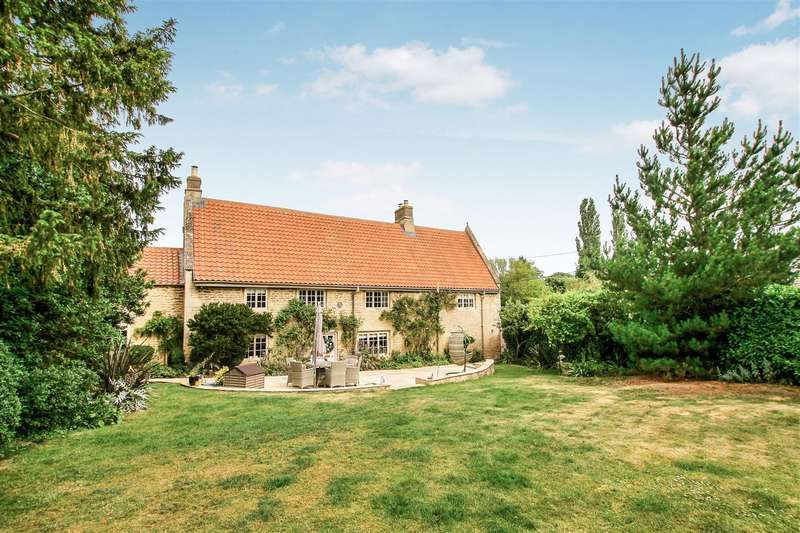 5 Bedrooms Detached House for sale in Main Street, Wilsford, Grantham
