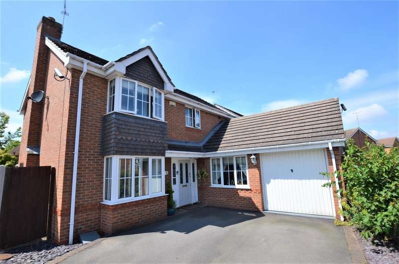 4 Bedrooms Detached House for sale in Silverdale Close, Chellaston, Derby