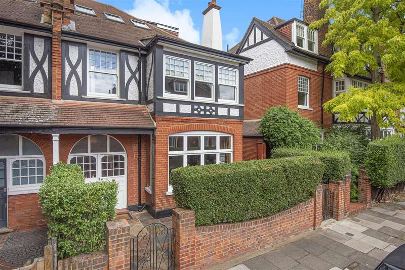5 Bedrooms Semi Detached House for sale in Blenheim Road, London, W4
