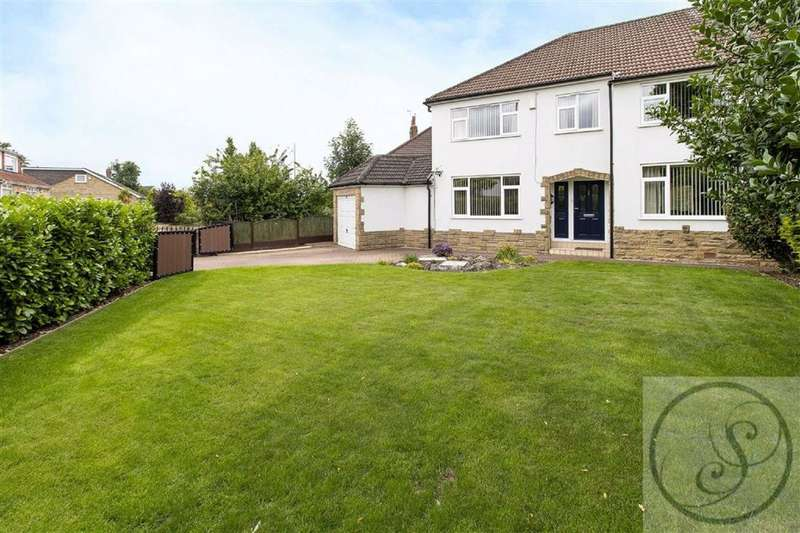 5 Bedrooms Semi Detached House for sale in New Templegate, Leeds