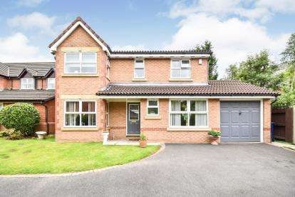 4 Bedrooms Detached House for sale in Brindle Fold, Bamber Bridge, Preston, Lancashire