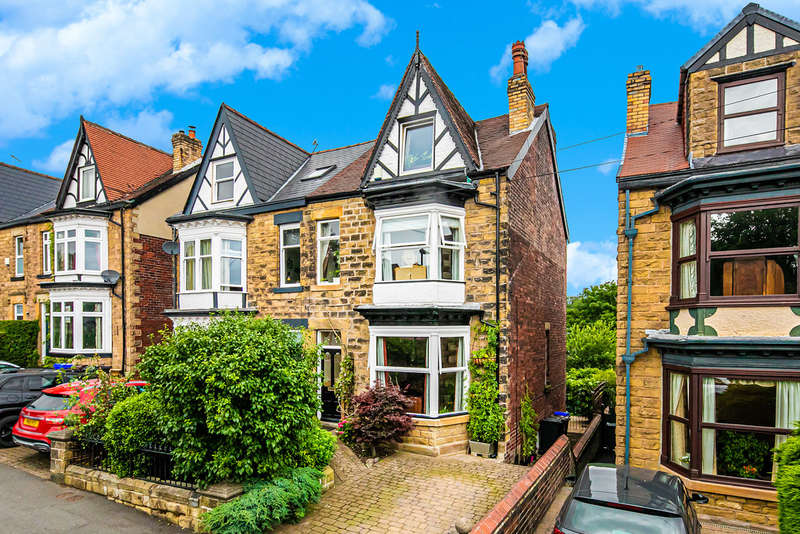 5 Bedrooms Semi Detached House for sale in Montrose Road, Nether Edge