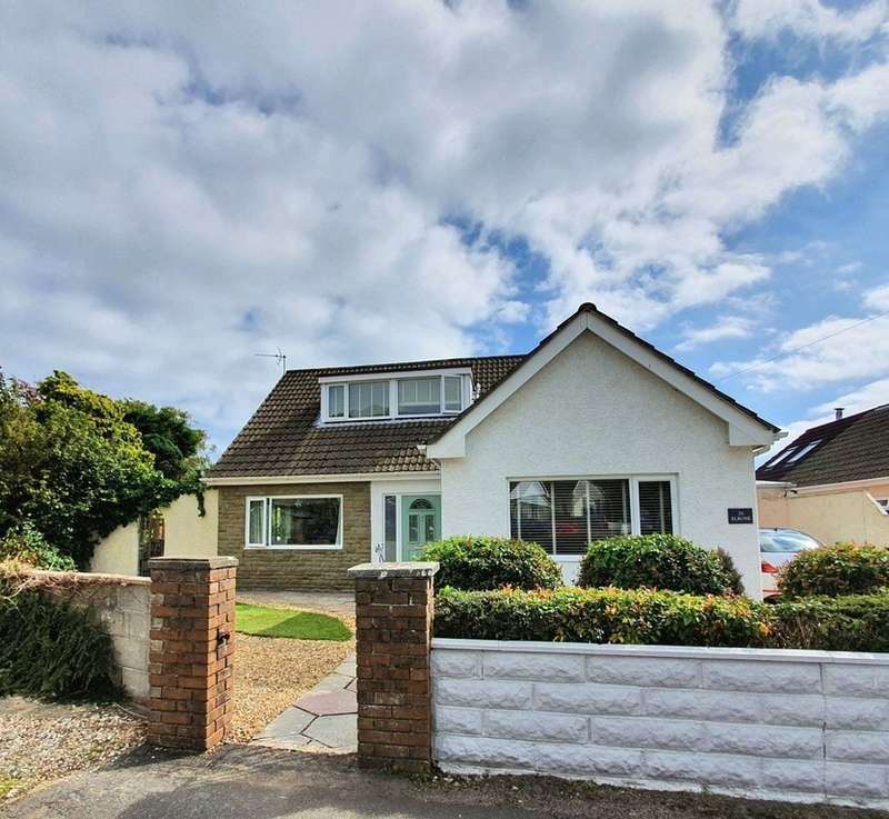 4 Bedrooms Detached Bungalow for sale in CHERRY TREE AVENUE, DANYGRAIG, PORTHCAWL, CF36 5RD