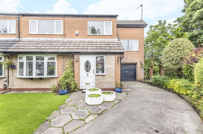 4 Bedrooms Semi Detached House for sale in Chapel Meadow, Worsley, Manchester, M28 1ET