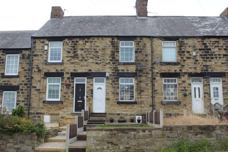 2 Bedrooms Terraced House for sale in Rotherham Road, Barnsley, South Yorkshire, S72