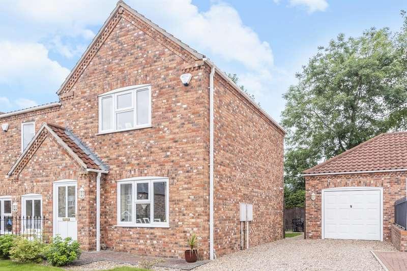 2 Bedrooms End Of Terrace House for sale in Oak Tree Meadow, Horncastle, Lincs, LN9 5PG