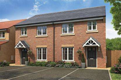 3 Bedrooms Semi Detached House for sale in Stokesley Grange, Westlands, Stokesley, Middlesborough