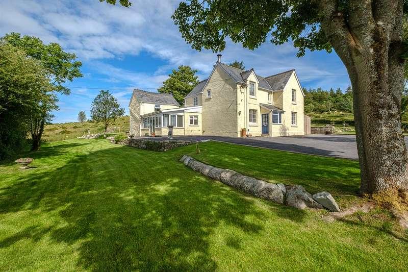 4 Bedrooms Detached House for sale in Penybont, Llandrindod Wells, LD1 5UA