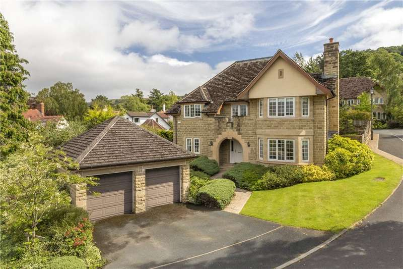 5 Bedrooms Detached House for sale in Ghyll Royd, Ilkley, West Yorkshire