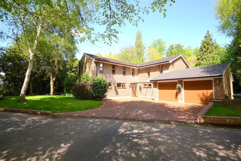 5 Bedrooms Detached House for sale in Manor House Court, Church Road, Shepperton, TW17