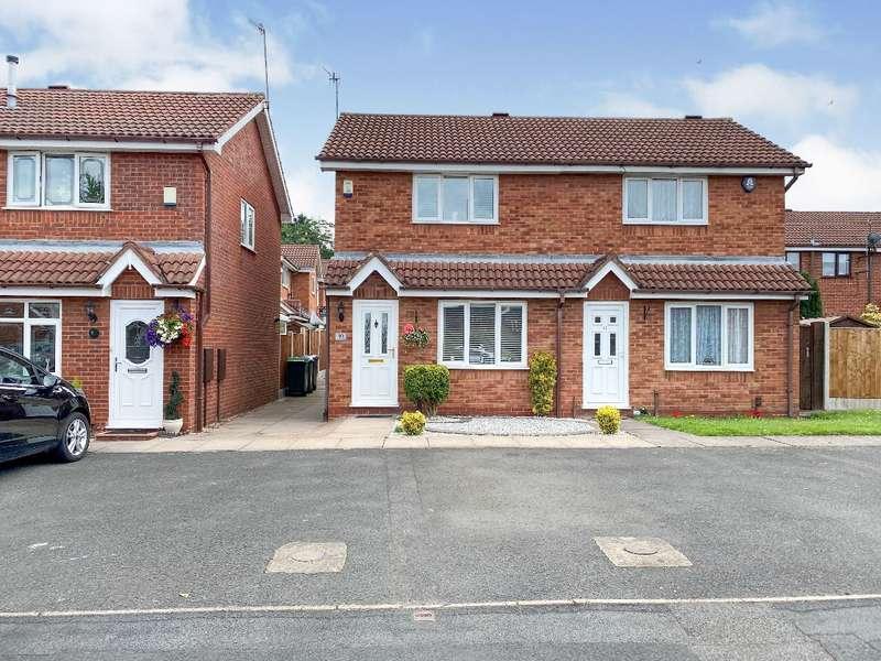 2 Bedrooms Semi Detached House for sale in Cross Close, Cradley Heath
