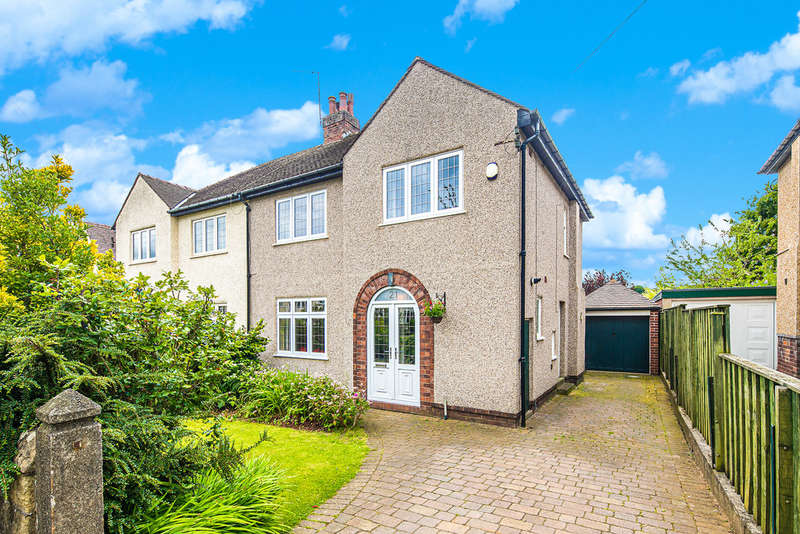 3 Bedrooms Semi Detached House for sale in Furniss Avenue, Dore