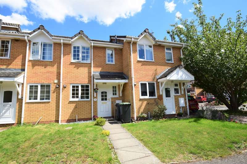 2 Bedrooms Terraced House for sale in Wrights Way, Woolpit