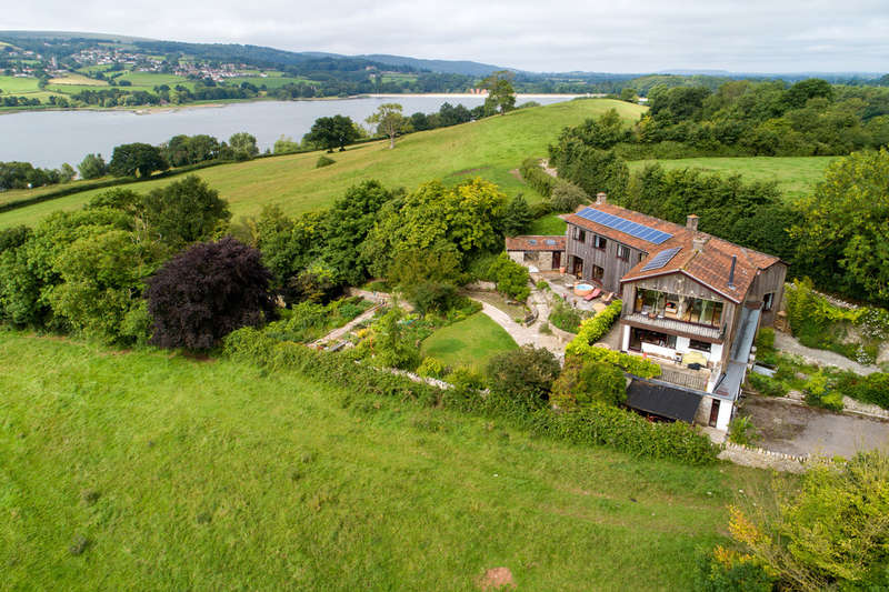 5 Bedrooms Detached House for sale in Outstanding house, Lake views. Nempnett Thrubwell, Blagdon